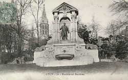 Monument à Auguste-Laurent Burdeau – Lyon (fondu)