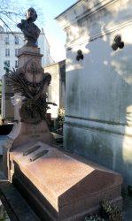 Buste de Jacques Offenbach – Cimetière de Montmartre – Paris (75018)
