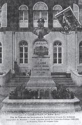 Monument à l'Inspecteur Général Carré  – Charleville-Mézières (fondu)