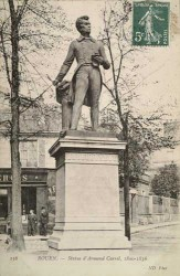 Monument à Armand Carrel – Rouen (fondu)