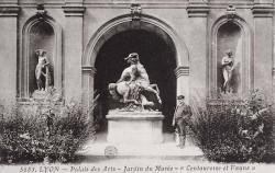 Centauresse et Faune – Parc de la Tête d'Or – Lyon