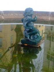 Enfants au dauphin (2) – Saint-Etienne