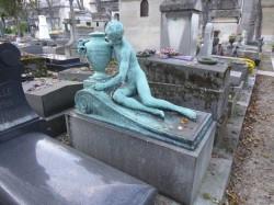 Tombe Constantin Lahovari – Père-Lachaise – Paris 75020