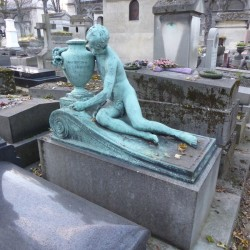 Tombe Lahovari – Père-Lachaise – Paris 75020