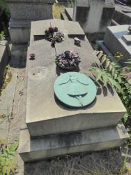 Tombe de la famille Fourmy (Jeanne de Saunoy) – Cimetière du Père-Lachaise – Paris (75020)