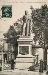 Monument au marquis de Chasseloup-Laubat – Marennes