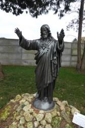 Christ ressuscité  – calvaire – Saint-Georges-sur-Cher