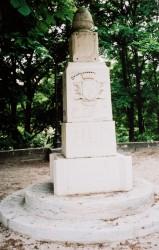 Monument à Paul Chevalier – Poligny (disparu)