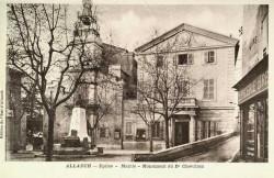 Monument au docteur Joseph Chevillon – Allauch (remplacé)
