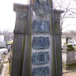 Tombe Caron – Fouchard – Cimetière du Père Lachaise – Paris (75020)