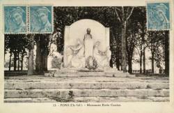 Monument à Emile Combes (fondu)(remplacé) – Pons