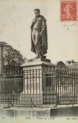 Monument à Nicolas Jacques Conté – Sées (fondu en partie)