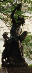 Fontaine Faune à la panthère – Saint-Etienne