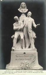 Monument aux frères Coquelin de la Comédie française – Boulogne-sur-Mer