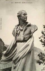 Monument à Charles Cornic – Morlaix (fondu – remplacé par de la pierre)