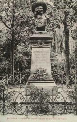 Monument à Cortete de Prades – Agen (fondu)