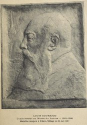 Monument à Louis Courajod – Orbais-l'Abbaye