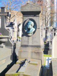 Buste de Gaston A. Klein – Cimetière de Montparnasse – Paris (75014)
