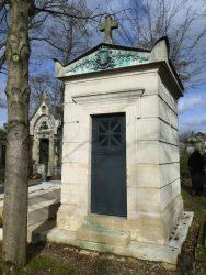 Sépulture Hautpoul – Cimetière du Père-Lachaise – Paris (75020)