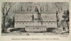 Monument à Danton et Gambetta – Sèvres