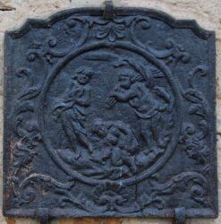 Plaque de cheminée(6/11) – Château de Montaigu – Laneuveville-devant-Nancy