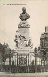 Monument à Guislain Decrombecque – Lens (fondu)