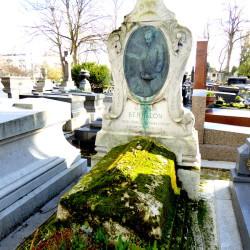 Tombe d'Alphonse Bertillon – Cimetière du Père-Lachaise – Paris (75020)
