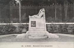 Monument à Henry Delagenière, promoteur de la décentralisation chirurgicale – Le Mans