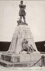Monument à Denfert-Rochereau, héroïque défenseur de Belfort – Saint-Maixent-l'Ecole