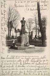 Monument à Marceline Desbordes-Valmore (fondu) – Douai