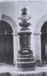 Monument à Hugues Destrem – Fanjeaux (fondu)