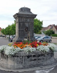 Fontaine de l'avenue de la République – Poligny