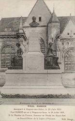 Monument à Paul Dubois – Nogent-sur-Seine (volé)