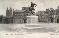 Monument à Duguesclin – Place Saint-Martin – Caen