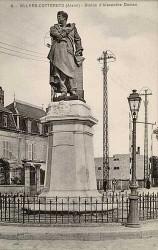 Monument à Alexandre Dumas – Villers-Cotterêts
