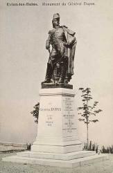 Monument au général Dupas – Evian-les-Bains