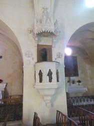 Appliques de chaire (5) –  Église Saint-Pierre-ès-Liens – Fontvielle
