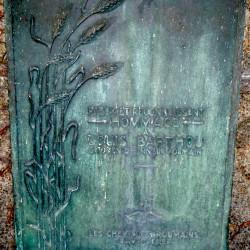 Tombe de la famille Louis Barthou – Cimetière du Père Lachaise – Paris (75020)