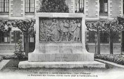 Monument aux anciens élèves du lycée Clemenceau – Nantes