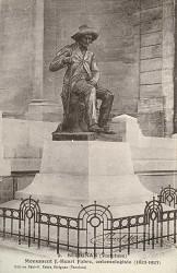 Monument à Jean-Henri Fabre – Sérignan