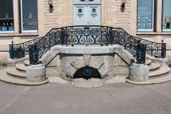 Rampes et perron – Château Hériot – Essoyes