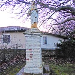 Statue du Sacré-Coeur – Brax