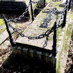 Croix funéraire de la sépulture Resdain – Cimetière du Père-Lachaise – Paris (75020)