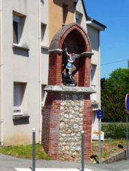 Statue de Saint-Michel – Evreux