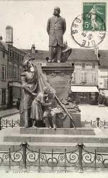 Monument à Jules Ferry – Rue Stanislas – Saint-Dié-des-Vosges