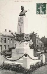 Monument à Eugène Fievet (Fondu, remplacé) – Caudry