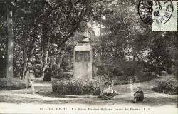 Monument à Fleuriau de Bellevue – La Rochelle