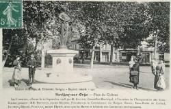 Fontaine (l'été) – Savigny-sur-Orge (détruit)