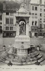 Fontaine place Saint-Jean, ou Baptême du Christ – Lyon
