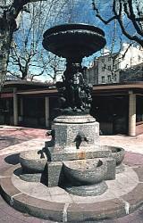 Fontaine de la place du Peuple – Saint-Etienne